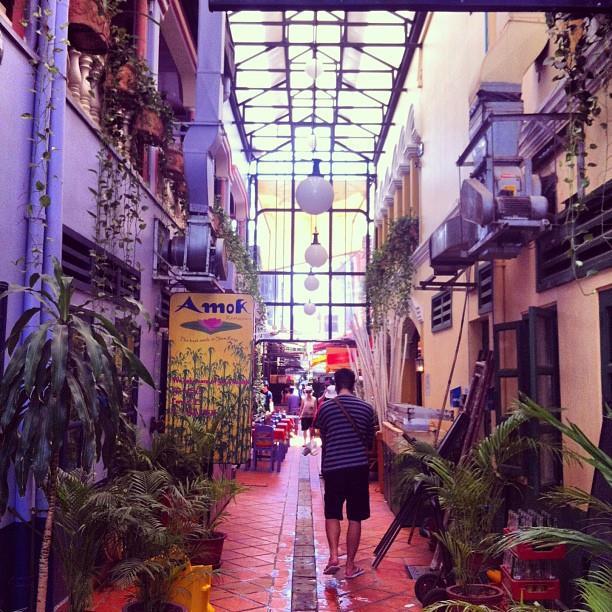 Siem Reap's quaint alleyways