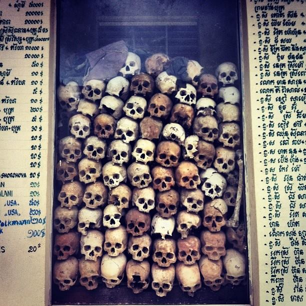 Killing Fields - remnants of Khmer Rouge