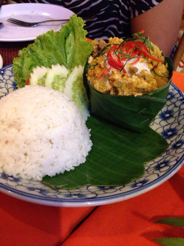 The best AMOK in the city at Khmer Family Restaurant