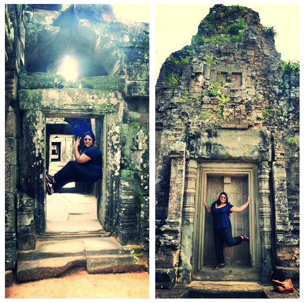 Ta Som and Pre Rup Door Pose