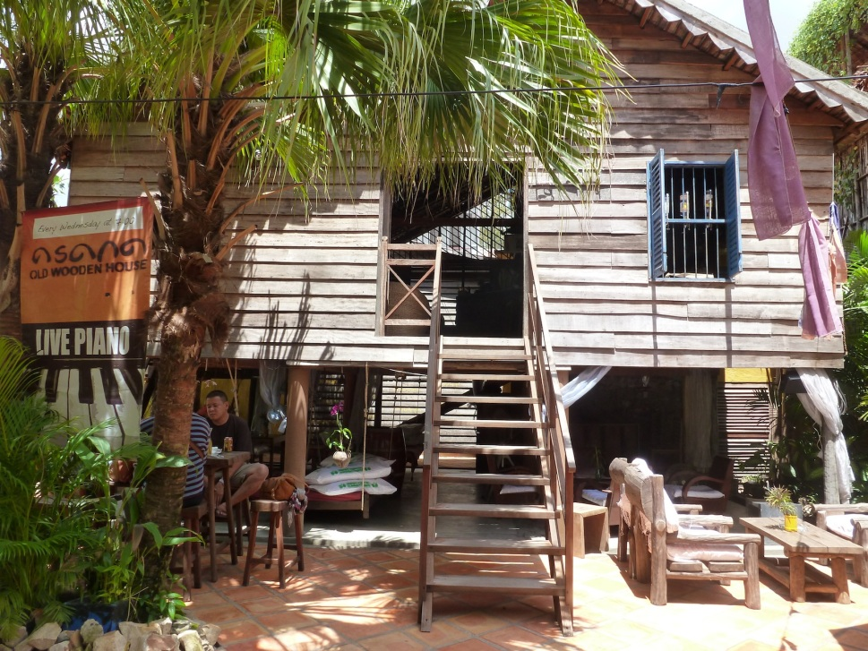 A surprise in the middle of all the alleys - #1 bar on Trip Advisor - Asana Old Wooden House