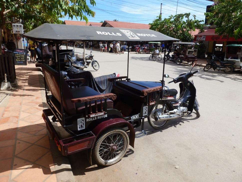 A Rolls Royce Tuktuk