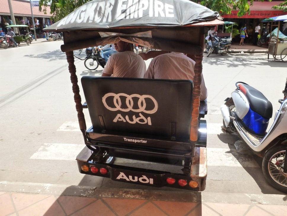 There are even Luxury tuktuks