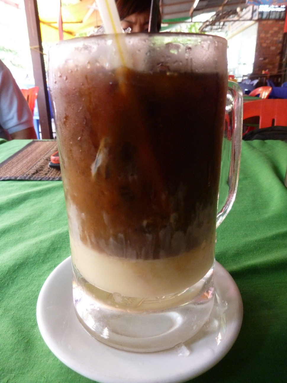 Bitter Coffee + Sweet Milk (Condensed), Cambodian style
