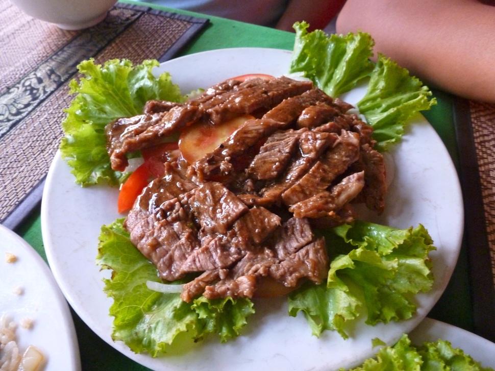 Beef Loklak - another Khmer dish.