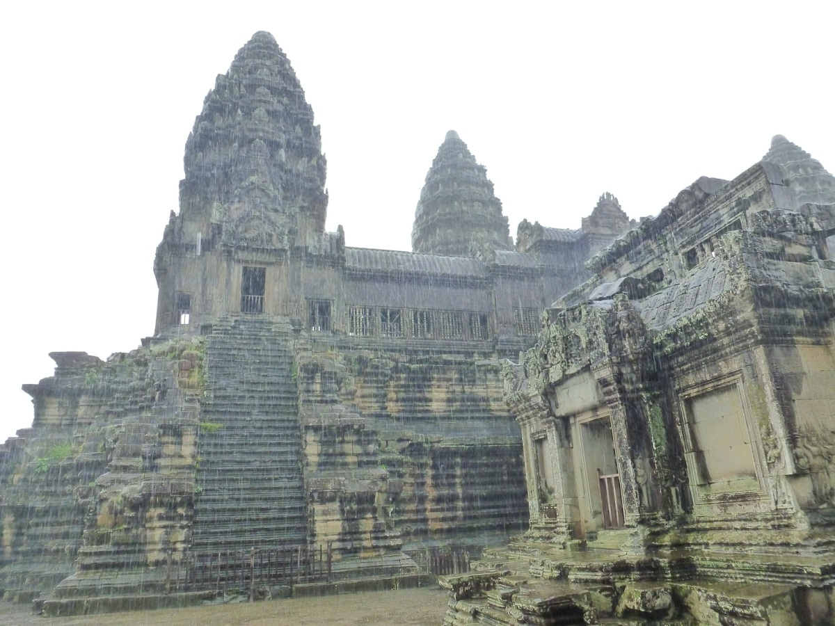 What's Up at the Angkor Wat