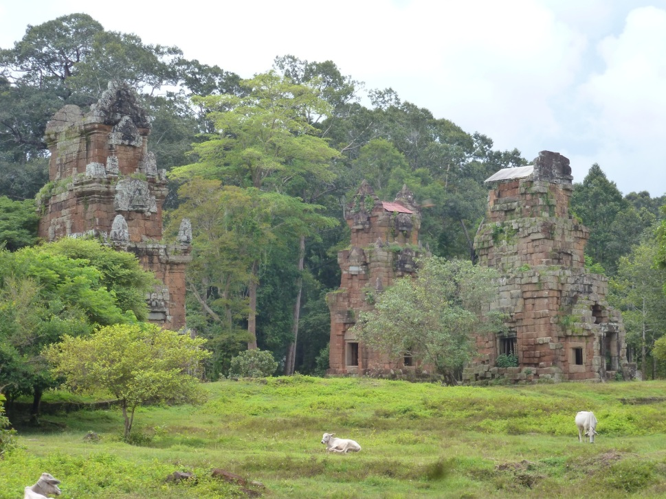 Interesting buildings at the Angkor Thom complex