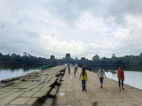 The Bridge to Angkor Wat
