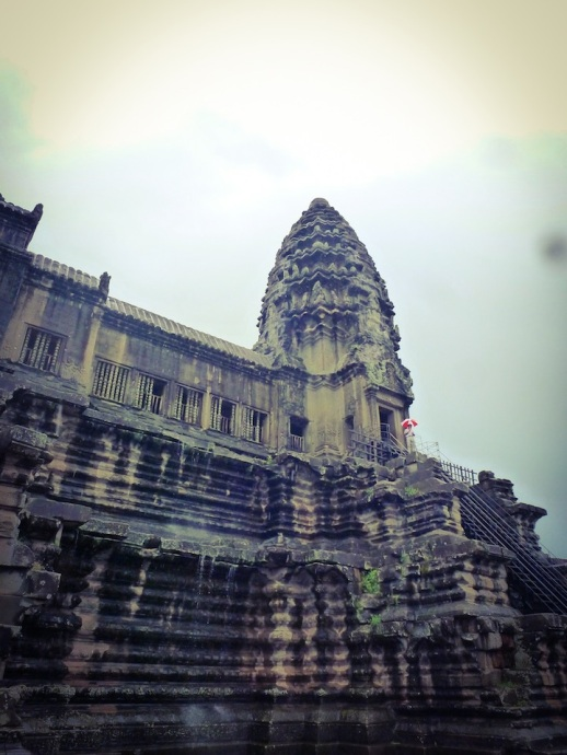It's a conspiracy! The Umbrella Corporation has taken over Angkor Wat.