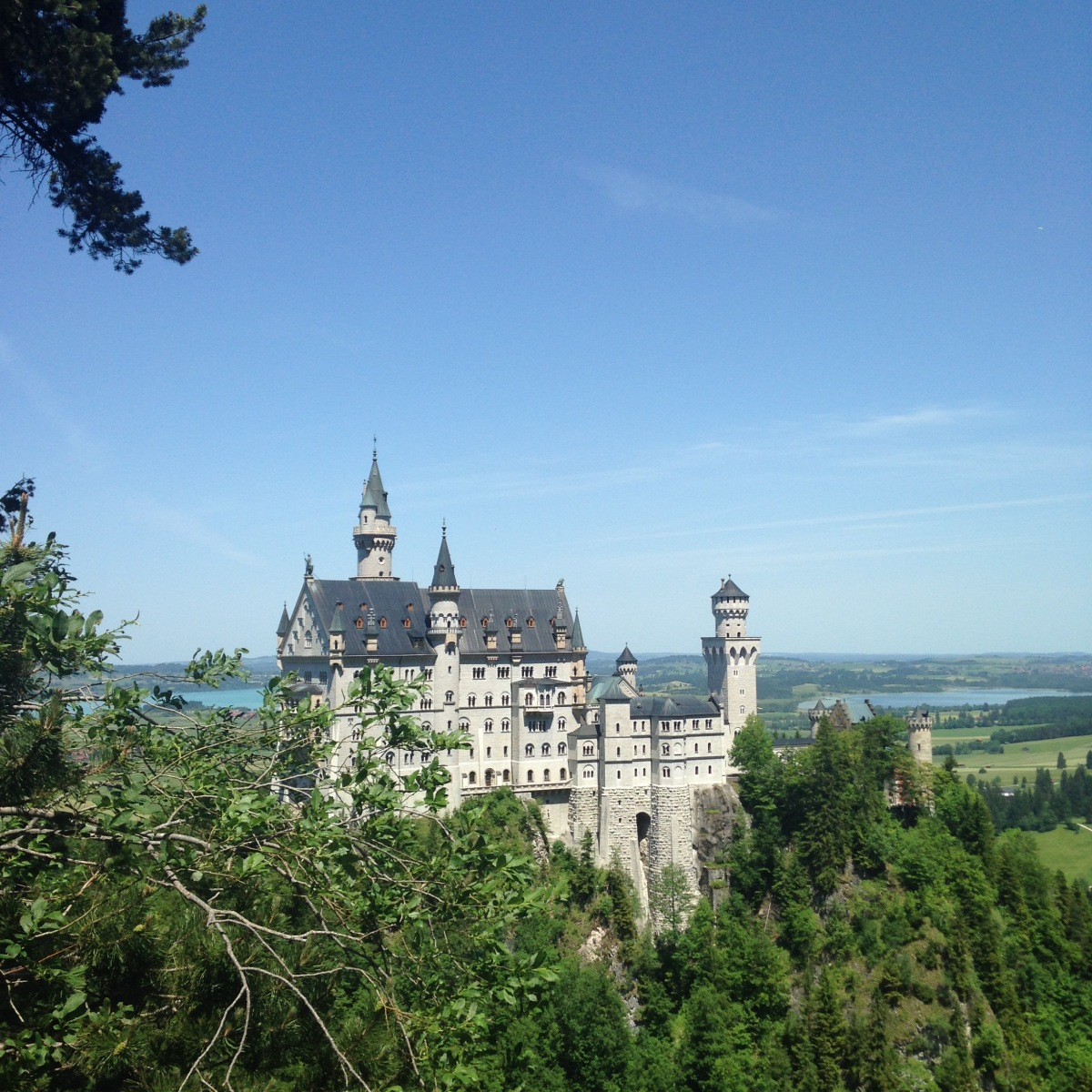 Neuschwanstein: Disney's Sleeping Beauty Castle